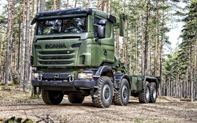 Scania R730 Tank, military truck, military vehicles, Scania, R730 military