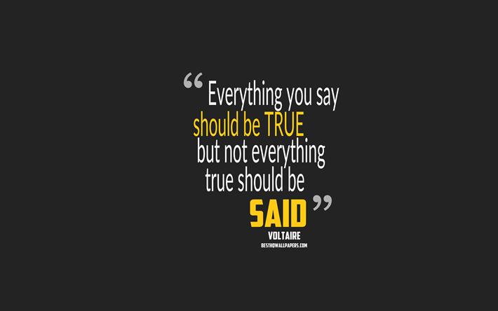 Scarica Sfondi Tutto Quello Che Dice Deve Essere Vero Ma Non
