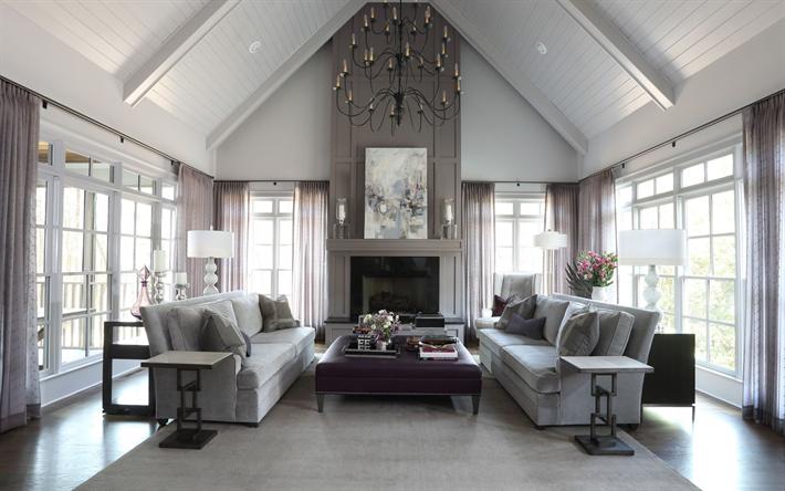 Herunterladen hintergrundbild luxuriöse wohnzimmer interieur ...