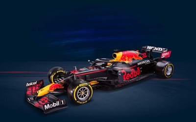 Red Bull Racing RB16B, studio, voitures de F1 2021, Formule 1, voitures de sport, Red Bull Racing Honda, nouvelles RB16B, F1, Red Bull Racing 2021, voitures de F1
