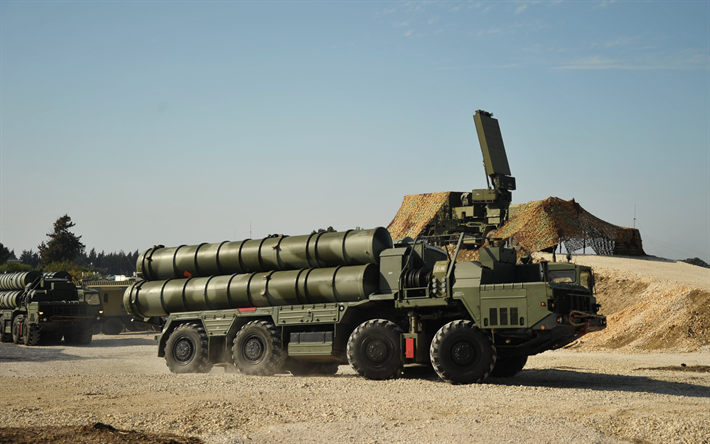 SA-21 Growler, S-400 Triumf, Russian Army, S-400 Missile System, Syria
