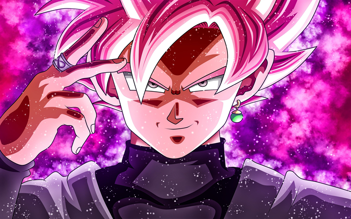 Herunterladen Hintergrundbild Super Saiyajin Rose 4k