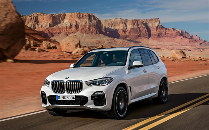 Download Wallpapers Bmw X5 2019 4k Exterior Front View G05