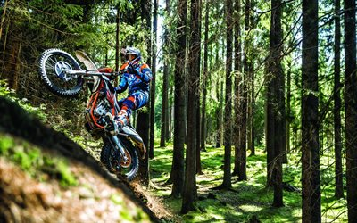 KTM Freeride 250F, 2020, cross-country motorcycle, forest riding, motocross, new Freeride 250F, austrian motorcycles, KTM