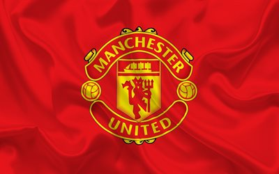 Download wallpapers Manchester United, flag, football club ...