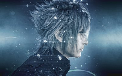 Noctis, 4k, characters, action, Final Fantasy XV