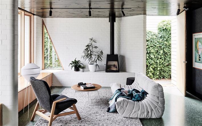 Herunterladen hintergrundbild wohnzimmer, landhaus, modern ...