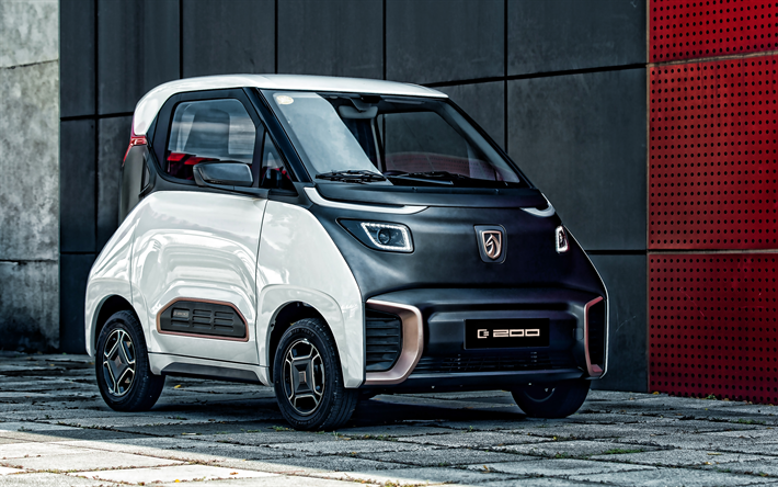 Baojun E200, 2019, exterior, compact electric car, chinese electric cars, SAIC-GM-Wuling