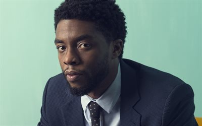 Chadwick Boseman, American actor, portrait, Hollywood, popular actors