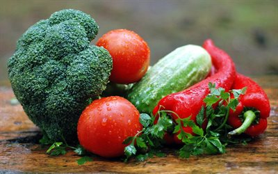 vegetables, broccoli, tomatoes, cucumbers, cabbage, vegetables concepts, healthy food