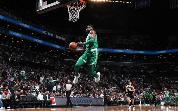 Jaylen Brown 4k Basketball Players NBA Boston Celtics Dunk