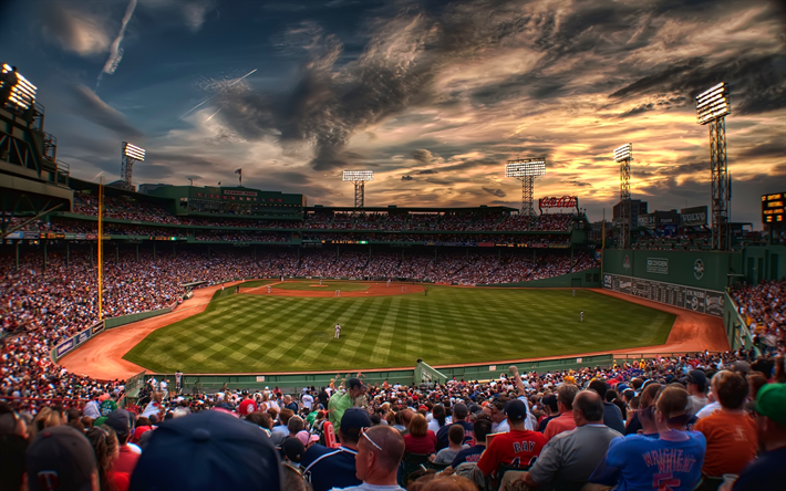 Fenway Park 4k Baseball Stadium MLB Boston USA