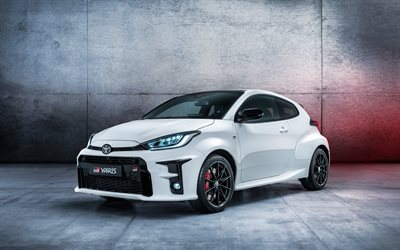Toyota GR Yaris, 4k, compact cars, 2020 cars, tuning, 2020 Toyota Yaris, japanese cars, Toyota