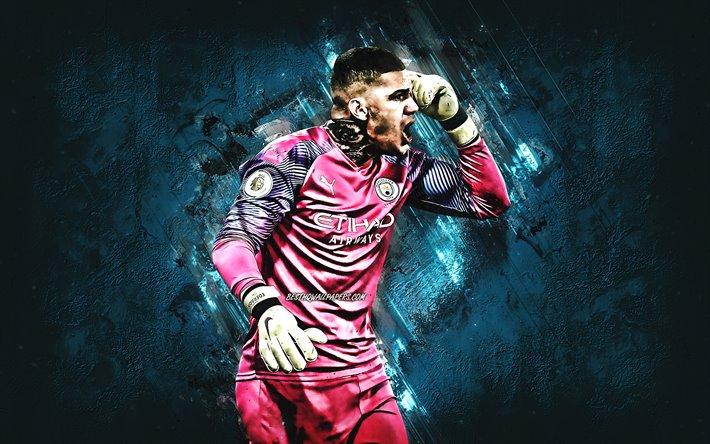 Download Wallpapers Ederson Moraes, Goalkeeper, Manchester