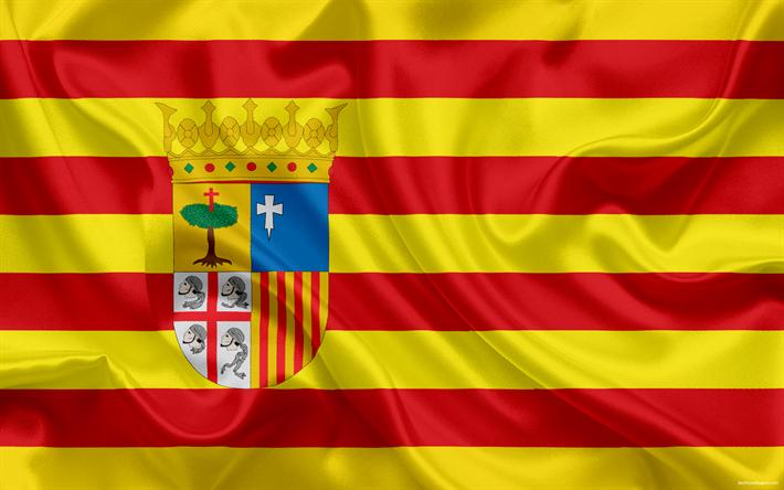 Descargar Fondos De Pantalla La Bandera De Aragón