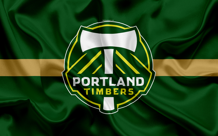 Portland Timbers FC American Football Club MLS Major League Soccer Emblem
