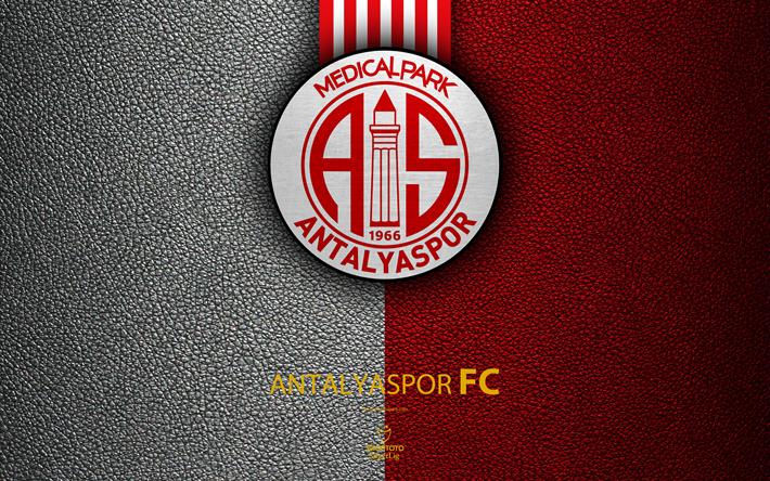 Download Wallpapers Antalyaspor FC 4k Turkish Football