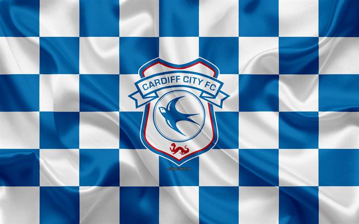 Download Wallpapers Cardiff City Fc 4k Logo Creative Art