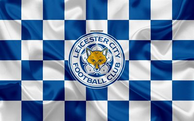 Download wallpapers Leicester City FC, LCFC, 4k, logo ...