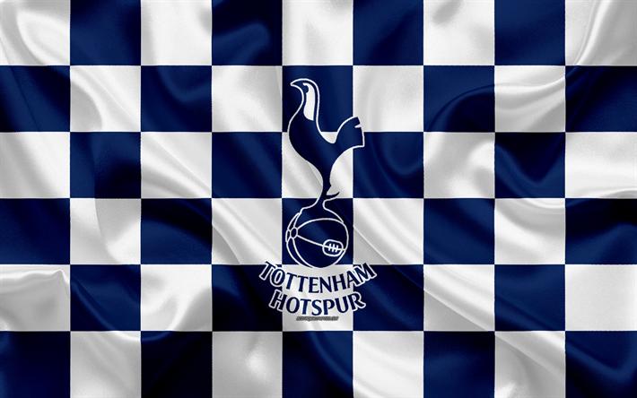Download Wallpapers Tottenham Hotspur Fc 4k Logo Creative