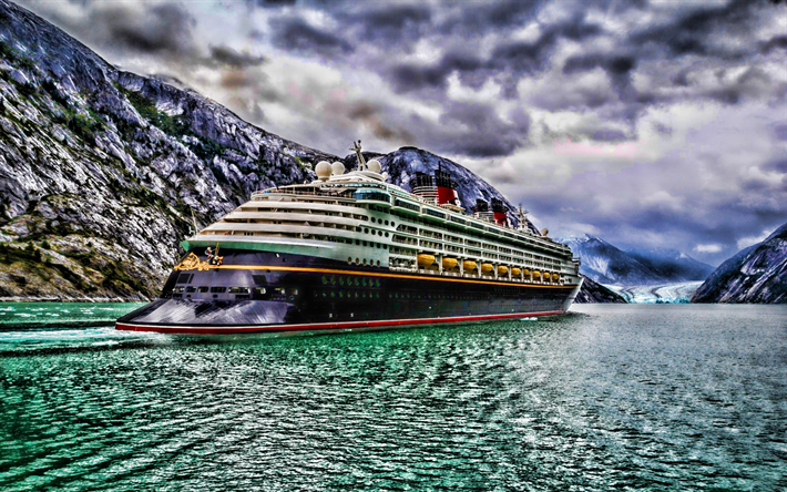 Disney Dream, back view, HDR, cruise ship, Disney Cruise Line