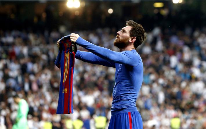 Download Wallpapers Lionel Messi Barcelona Fc Shows T Shirt Football Spain 4k Leo Messi La Liga For Desktop Free Pictures For Desktop Free