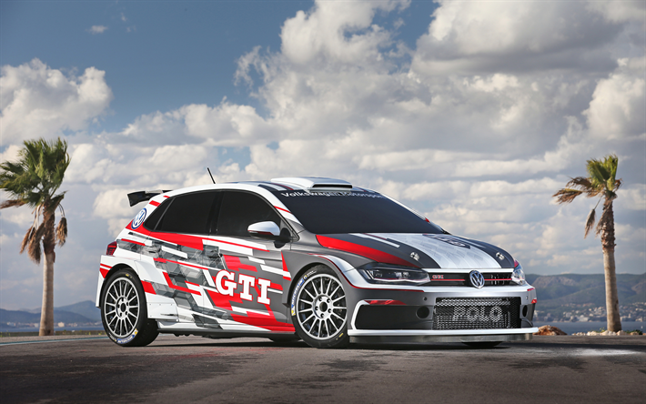 download wallpapers 4k volkswagen polo gti r5 raceway. Black Bedroom Furniture Sets. Home Design Ideas
