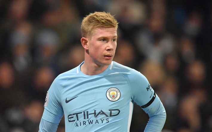Download Wallpapers Kevin De Bruyne, Manchester City, 4k