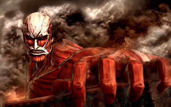 Download Wallpapers Attack On Titan 2 4k Poster 2018 Games Shingeki No Kyojin 2 Attack On Titan For Desktop Free Pictures For Desktop Free