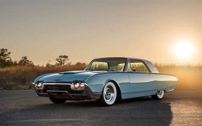 Download Imagens Ford Thunderbird 1965 Azul Coupe Exterior