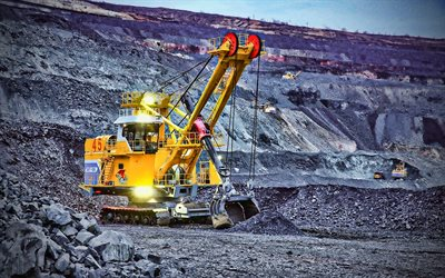 EKG-12K, excavator, quarry, HDR, mining equipment, electric excavators
