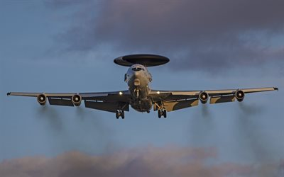 Boeing E-3 Sentry, radar detection aircraft, US Air Force, military aircraft