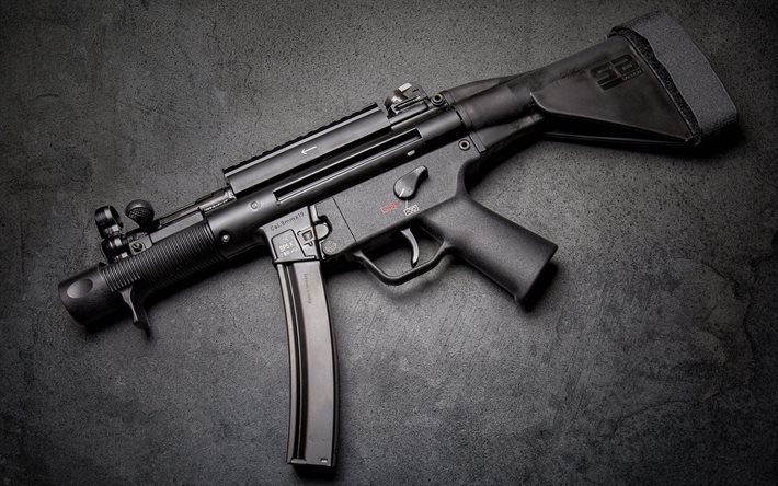 HK MP5K, Pistol-machine guns, MP5, special-purpose weapons