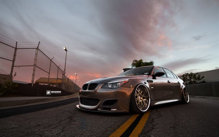 Bmw M5 E60 Wallpaper: Download Wallpapers BMW M5, Low Rider, Tuning, E60, Stance