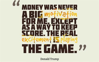 Donald Trump Quotes, Quotes about money, quotes about motivation, inspiration