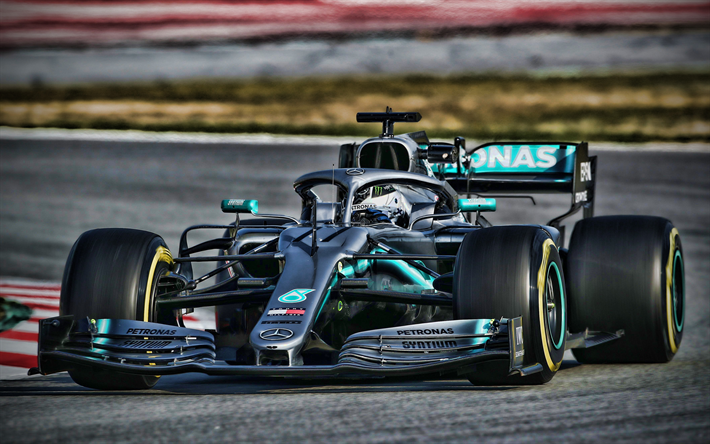 Download Wallpapers Valtteri Bottas 4k Mercedes W10 F1 Raceway 2019 F1 Cars Formula 1 F1 Mercedes Amg Petronas Motorsport F1 2019 New W10 F1 W10 Eq Power F1 Cars For Desktop Free Pictures