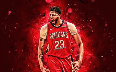 Download Wallpapers Anthony Davis Basketball Stars Nba