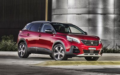 Peugeot 3008 Crossway, 4k, 2019 cars, crossovers, french cars, new Peugeot 3008, Peugeot