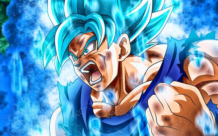 Download Wallpapers Son Goku Blue Flames 4k Super Saiyan Blue 2019 Dbs Characters Artwork Dbs Super Saiyan God Anger Goku Dragon Ball Super Manga Dragon Ball Goku For Desktop Free Pictures For
