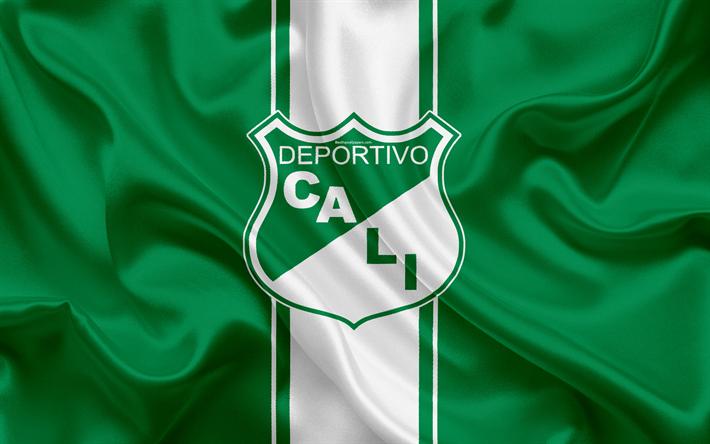 Download Wallpapers Deportivo Cali 4k Logo Colombian