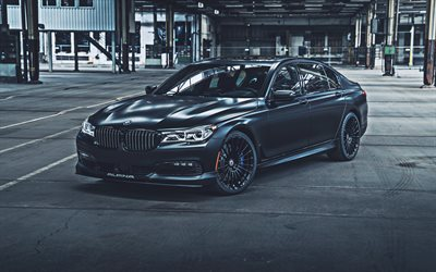 bmw alpina b7, 4k, tuning, 2019 autos, bmw 7-serie, der g12, deutsche autos, 2019 bmw alpina b7, hdr, bmw