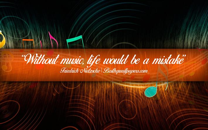 Citation Nietzsche Musique : Quote by friedrich nietzsche u cand those who were seen dancing