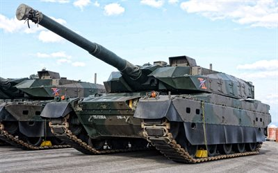 Type 10, Japanese main battle tank, Type 10 Hitomaru, Mitsubishi, Japan Self-Defense Forces, JSDF, modern tanks, Japan
