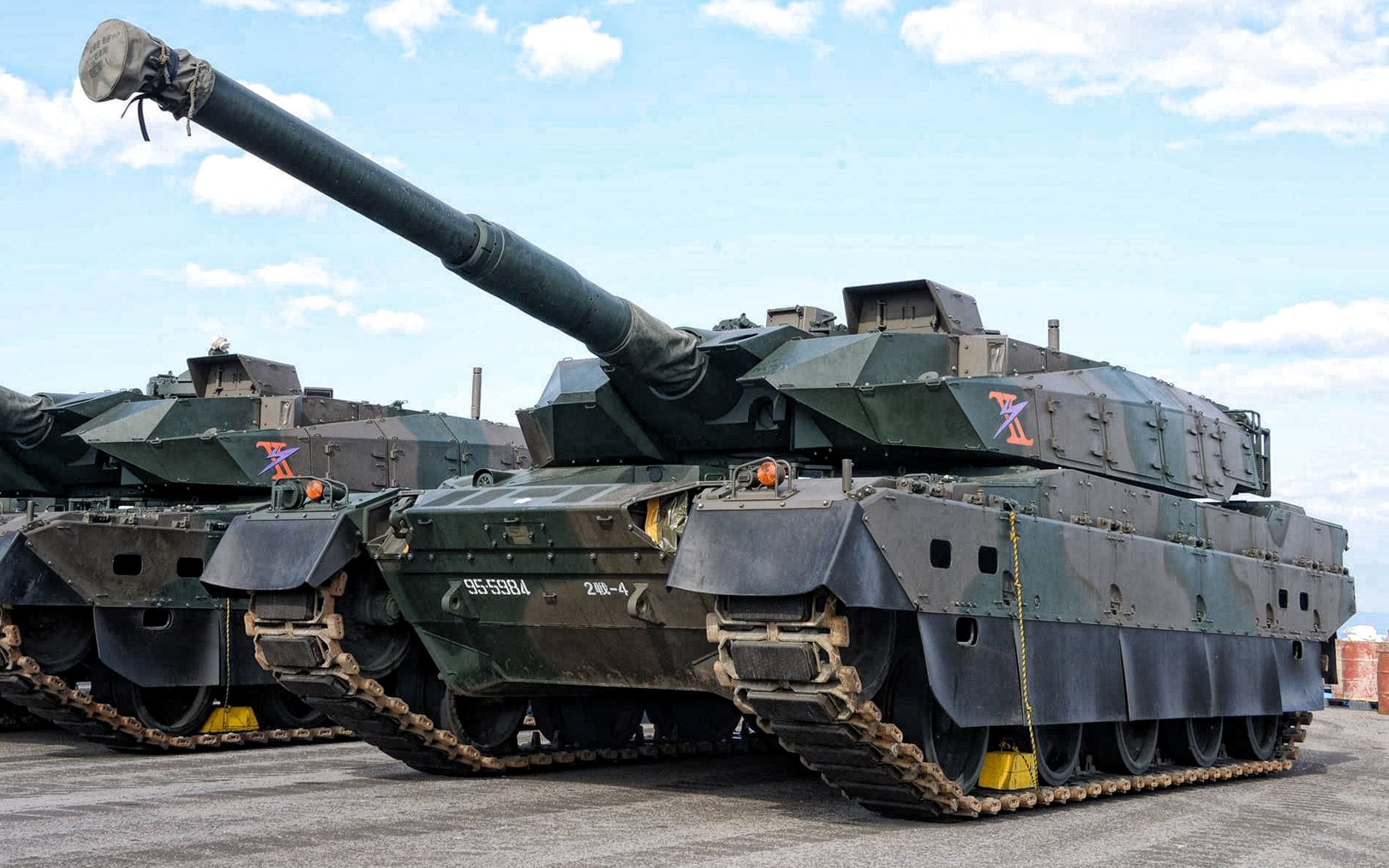 Typ 10, Japansk main battle tank, Typ 10 Hitomaru, Mitsubishi, Japan Self-Defense Forces, JSDF, moderna tankar, Japan