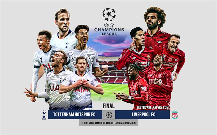 Download Wallpapers Tottenham Hotspur Fc Vs Liverpool Fc