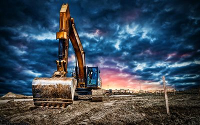 Caterpillar 335F, HDR, excavators, construction vehicles, 2021 excavators, CaT, special equipment, CaT 335F, Caterpillar