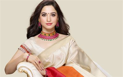 Tamanna Bhatia, Indian actress, Tamannaah, Saree, Indian dress, Bollywood, Indian star, Indian Saree, photoshoot