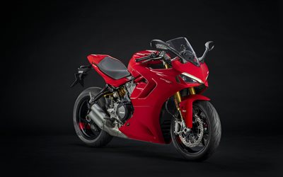 Ducati SuperSport 950, 2021, front view, exterior, new red SuperSport 950, superbike, Italian sports bikes, Ducati