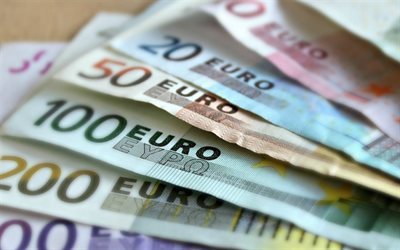 euro, banknotes, money concepts, finance, European money, European Union