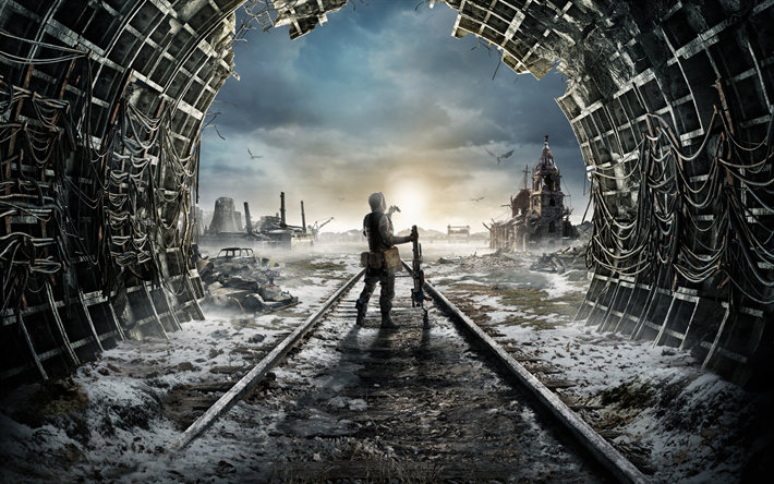 Metro Exodus, poster, shooter, promo, new games